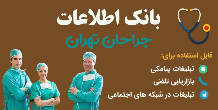 tehran surgeons database - بانک اطلاعات جراحان تهران
