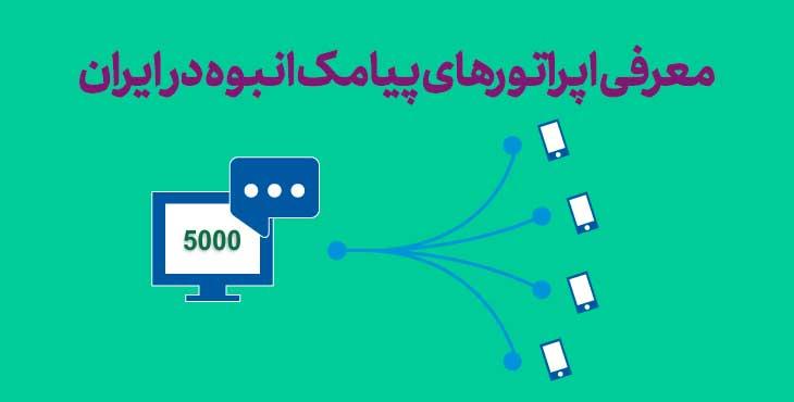 Introducing Bulk SMS Operators in Iran - معرفی اپراتورهای پیامک انبوه در ایران